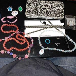 Wallet/Choker/phone grip/Kiddie Necklaces, etc